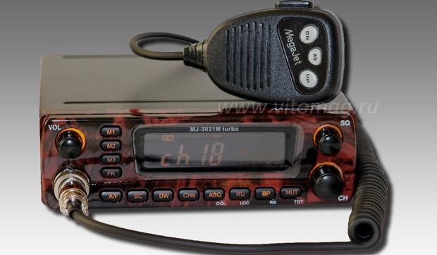 инструкция радиостанции мегаджет 3031м